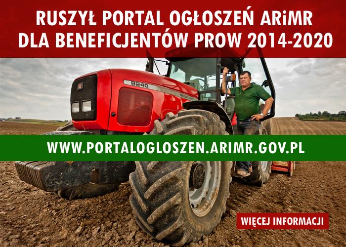 e1a94cb68100 Ruszył Portal Ogłoszeń ARiMR dla beneficjentów PROW